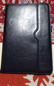 iPad Mini 4 Case Premium Leather Folio Case, Blue